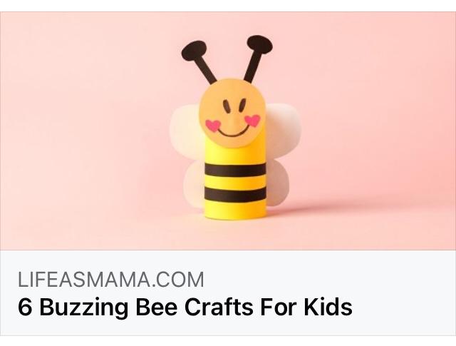 Buzzing Bee craft