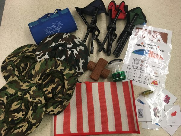 Dramatic Play Box 10 – A camping we will go