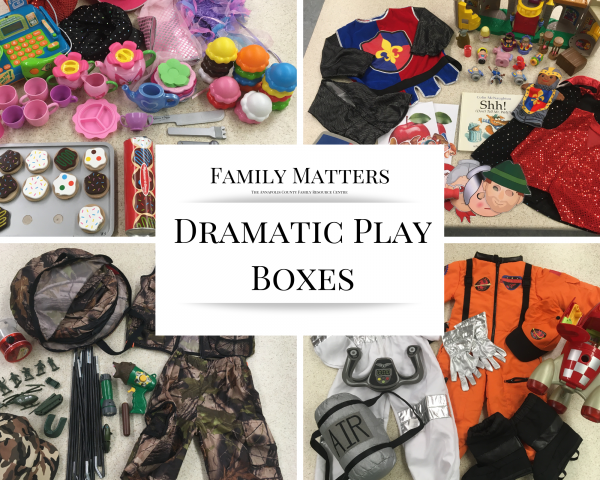 Dramatic Play Boxes