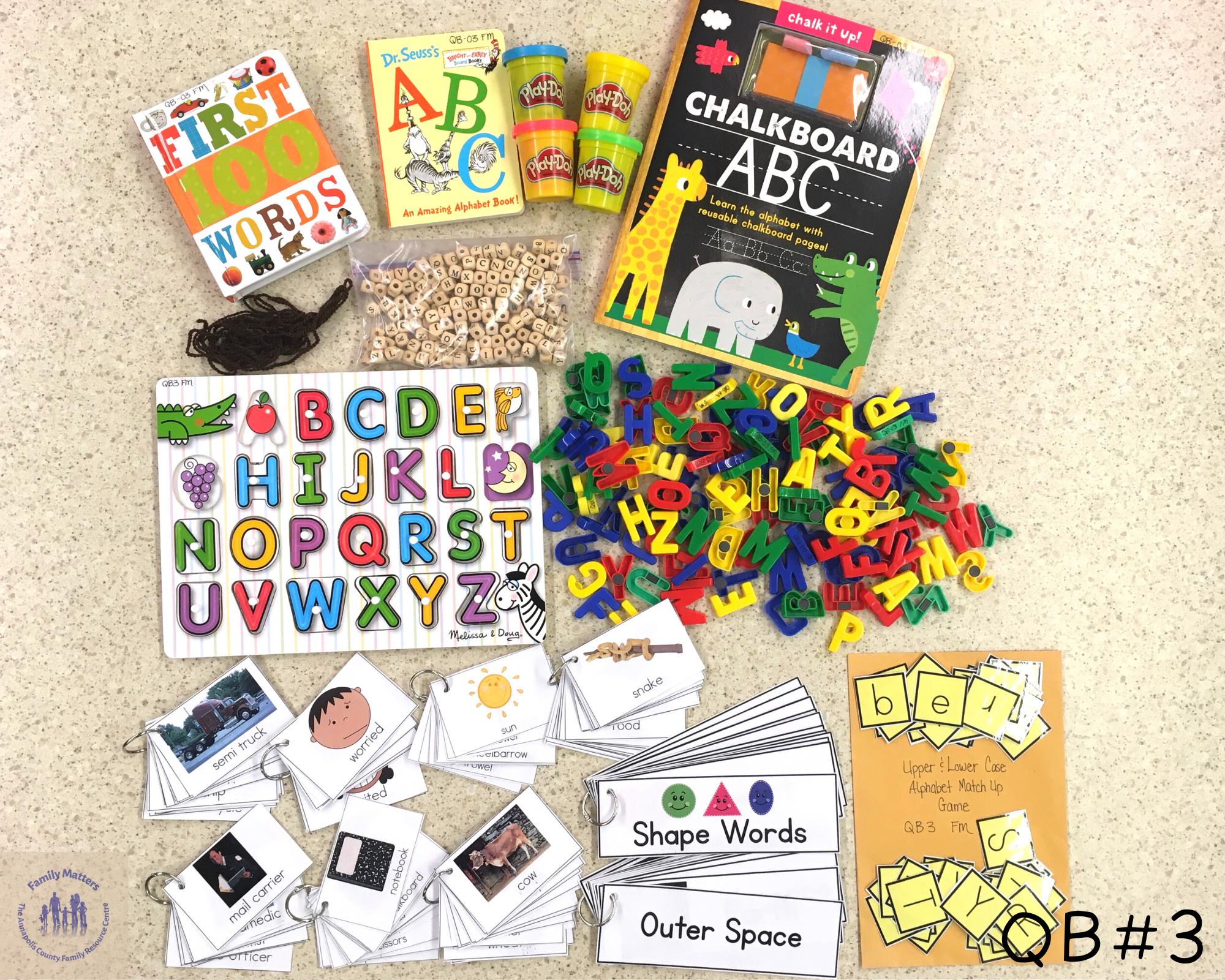 Quiet Box 03 – Letters