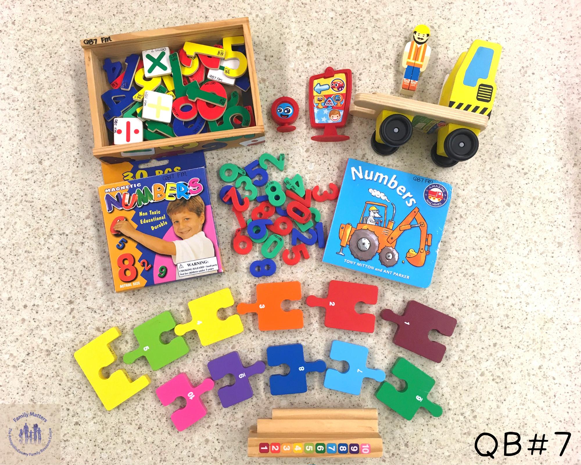 Quiet Box 7 – Numbers