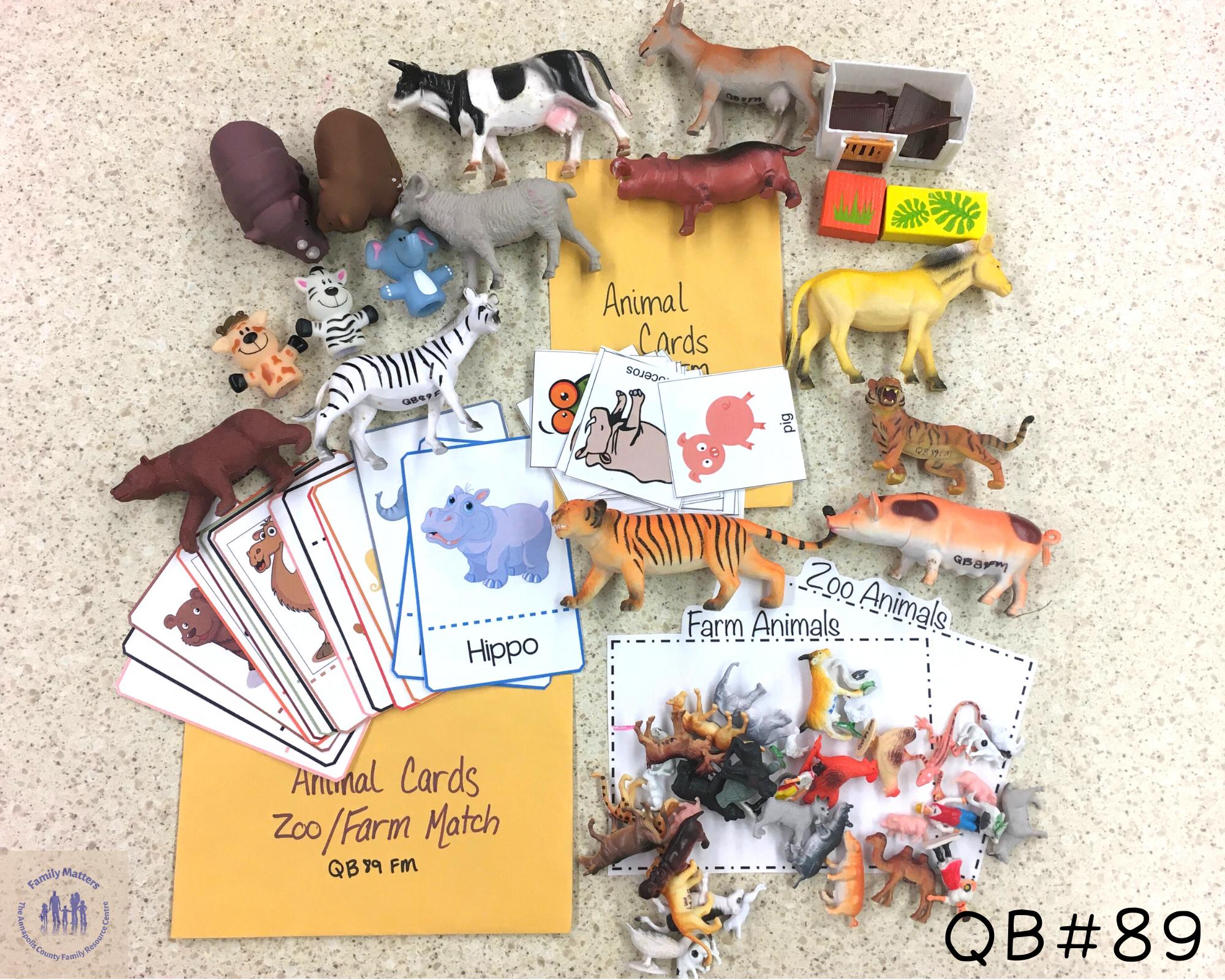 Quiet Box 89 – Animals