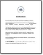 FHCC 2121 Parent Contract