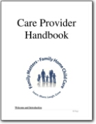 FHCC Care Provider Handbook 2021