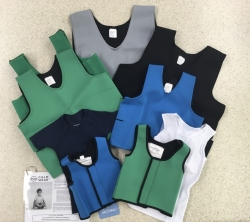 Weighted vests and sensory clothing